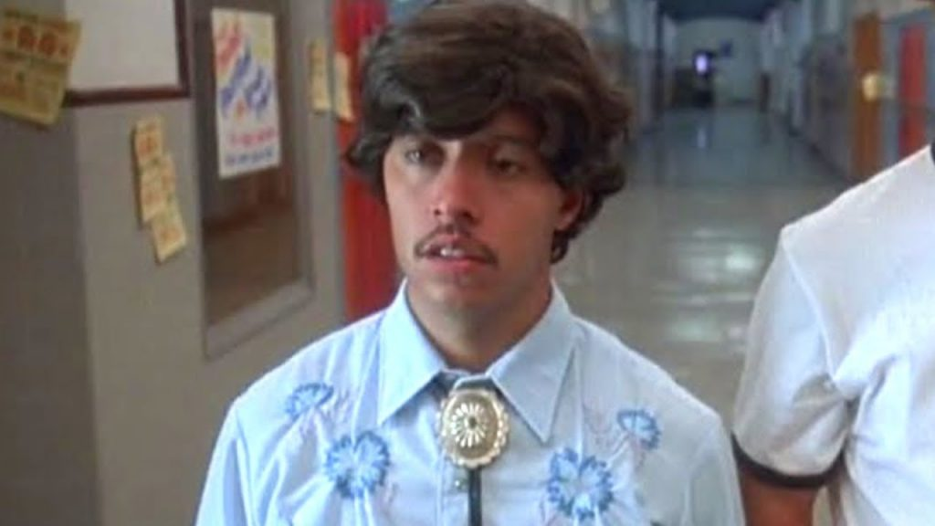 El personaje Pedro, de la película Napoleon Dynamite