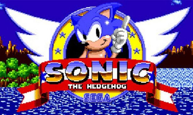 Sonic the Hedgehog opening Sega Mega Drive