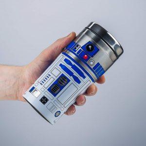 Taza de viaje friki hermética R2-D2 de Star Wars