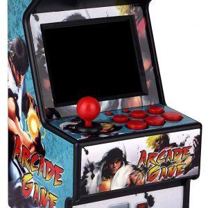 Mini arcade machine que integra 156 juegos: 156 Juegos en uno, ofreciendo una gran alegría. Hay variedades de juegos como pelotas, acciones, ajedrez, carreras, etc