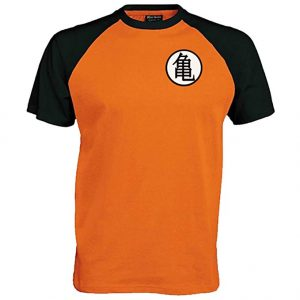 Camiseta manga anime Dragon Ball entrenamiento Goku