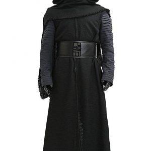 Disfraz cosplay friki para adultos de Kylo Ren inspirado en la película de Star Wars, El Despertar de la Fuerza.
