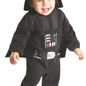 Disfraz cosplay de Darth Vader infantil para niñas, niños y bebés de Darth Vader, Star Wars.