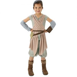 Disfraz cosplay para niñas de Rey, Star Wars