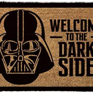 Felpudo / alfombra para puerta de Star Wars; Welcome to the Dark Side