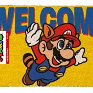 Felpudo Nintendo Mario Bros, producto con licencia oficial.