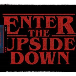 "Felpudo Stranger Things ""Enter the upside down"""