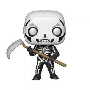 Funko Pop Fortnite: Battle Royale – Skull Trooper. Número de Colección 438. Muñeco Pop realizado en vinilo. Tamaño de la figura 9 cm.