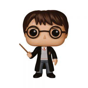 De la colección Harry Potter, Harry Potter como figura de vinilo POP de Funko. La figura mide 9 cm y se envía en una caja ilustrada con ventana. ¡Descúbre otras figuras de la colección Harry Potter y colecciónalas todas!
