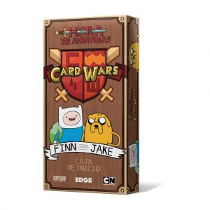 Juego de cartas Card Wars de Hora de Aventuras. Mazo deMaizales de Jake y el mazo de Llanuras Añiles de Finn.