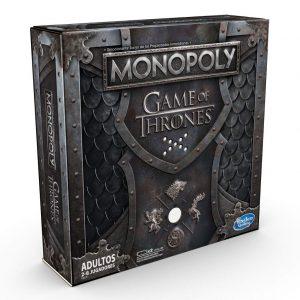 Monopoly edición especial basado en la serie de televisión Juego de Tronos. Versión española.