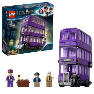 ¡Regala a tu joven mago o bruja el viaje de su vida a bordo del Autobús Noctámbulo LEGO Harry Potter (75957)! Cuando se suba al autobús morado de 3 pisos, ¡sabrá que le espera un loco paseo!