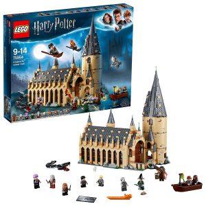 LEGO Harry Potter - Gran Comedor de Hogwarts, Juguete de Construcción, Incluye Minifiguras de Harry Potter
