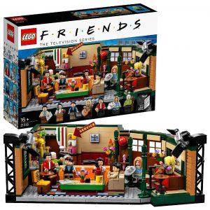LEGO Ideas - Central Perk, set de construcción, set de la cafetería por el 25 aniversario de la serie, revive los mejores momentos junto a Ross, Rachel, Phoebe, Joey, Chandler y Mónica