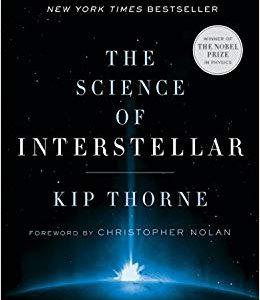 Libro friki explicando la ciencia física y astrofísica de la película Interstellar