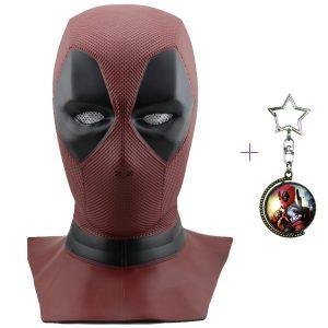 Máscara adulto película Deadpool de Marvel cosplay