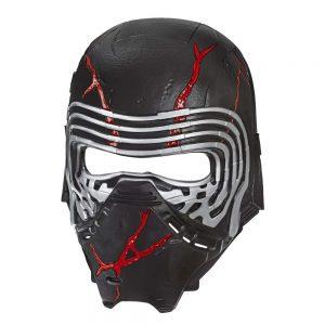 La máscara electrónica del Líder Supremo, Kylo Ren, de Star Wars: El ascenso de Skywalker, con efectos especiales de luz para el poder de la ira controlados por sonido, se convierte en el regalo óptimo para los fans más jóvenes de Star Wars;