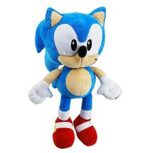 Peluche friki azul de Sonic the Hedgehog