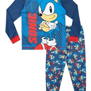 Sonic The Hedgehog Pijamas frikis de Manga Larga