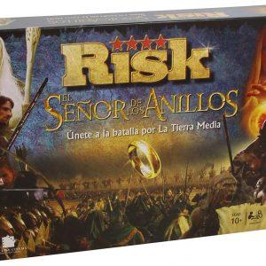 Juego de estrategia Risk basado en La batalla de la Tierra Media de El Señor de los Anillos