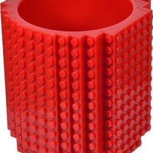 Taza friki con bloques de LEGO hechas de plástico sin bisfenol. El regalo perfecto para saciar tu frikismo!
