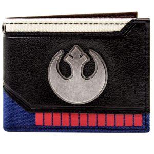 Cartera de Star Wars Han Solo Juego para Arriba Rebel Negro