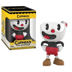 Figura vinilo videojuego Cuphead gamer friki
