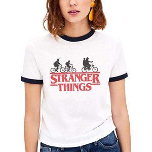 Camiseta friki de la serie Netflix Stranger Things