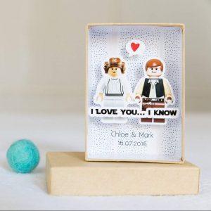 "Postal para San Valentin friki ""Te Quiero"" de Star Wars"