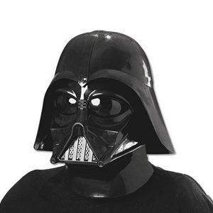 Casco de Darth Vader compuesto de dos piezas: máscara y casco Ideal para fans de Star Wars. ¡Emula al poderoso Lord Sith! Producto con licencia oficial de Star Wars