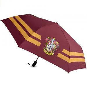 Paraguas de la casa Gryffindor inspirado en la película de Harry Potter.