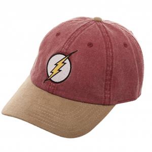 Gorra friki tipo Baseball con diseño de Flash, personaje de DC Cómics.