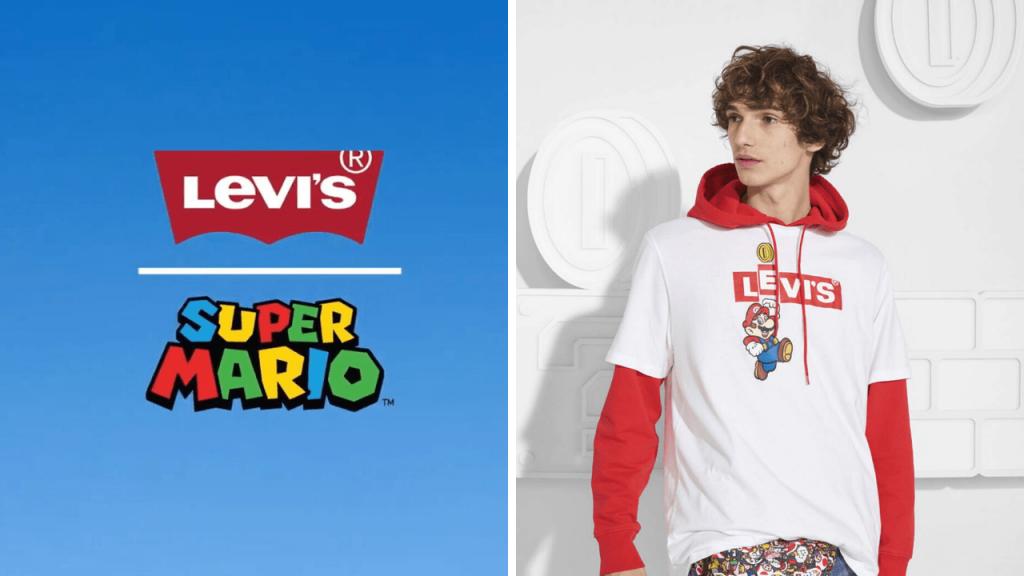 Super Mario salta del videojuego a tu ropa con la colaboración junto a Levi's