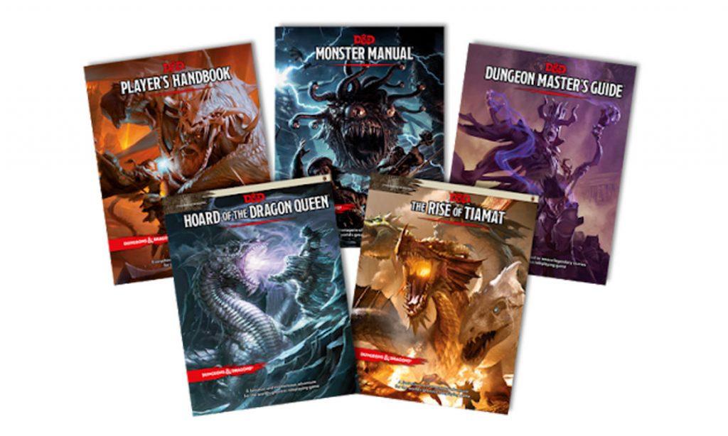 Libros de normas y reglas para aprender a jugar a Dungeon & Dragons. Juegos de rol. Todo Cosas Frikis blog.