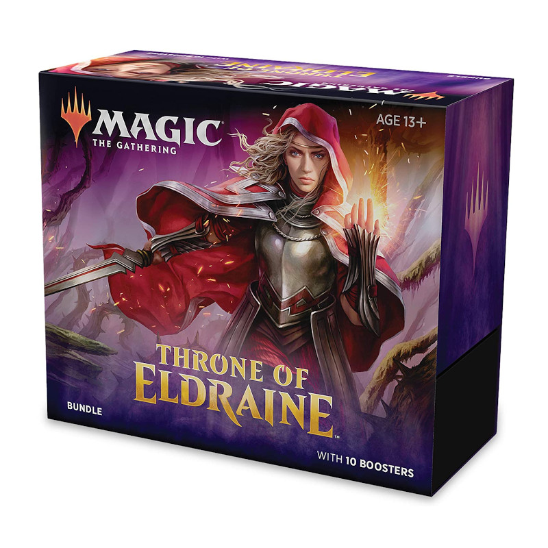 Magic the Gathering Kit Throne of Eldraine juego de cartas coleccionables frikis