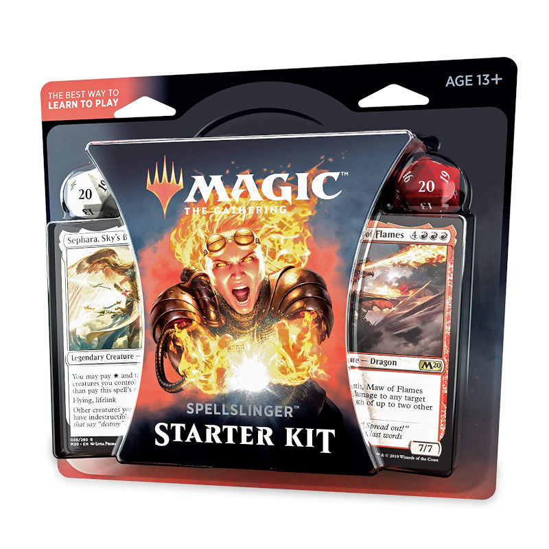 Magic the Gathering Kit de iniciacion Spellslinger 2020 juego de cartas frikis