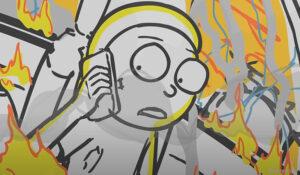 Ya puedes ver un primer vistazo en video de la nueva temporada 5 de Rick y Morty