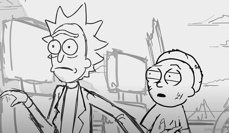 Nuevo video trailer de la quinta temporada de Rick y Morty. Series frikis en Todo Cosas Frikis.