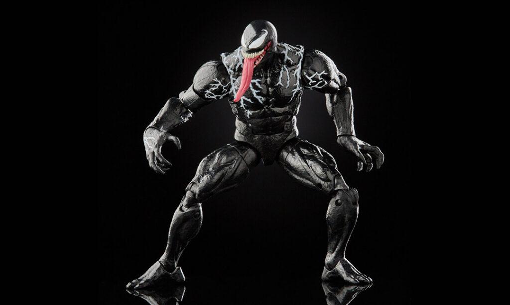 Hasbro anuncia seis nuevas figuras de acción Venom de Marvel Legends.