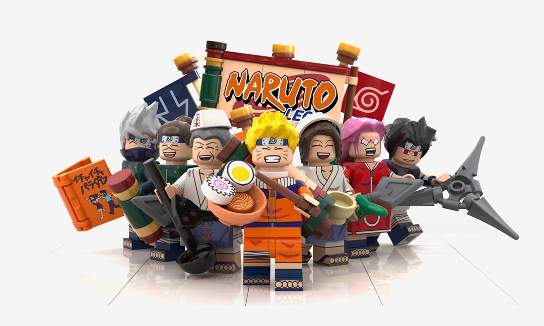 Descubre el famoso restaurante Ichiraku Ramen, del manga Naruto, construido con LEGO