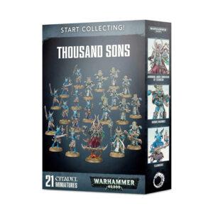 Warhammer 40.000 Start Collecting! Thousand Sons Games Workshop