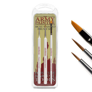 Set de pinceles para miniaturas The Army Painter