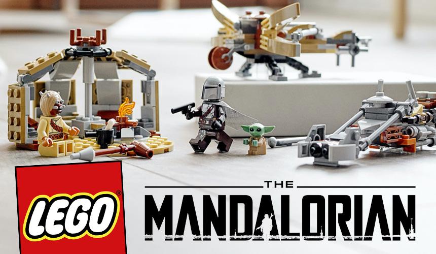 Set lego friki StarWars The Mandalorian Problemas en Tatooine Baby Yoda Din-Djarin blog