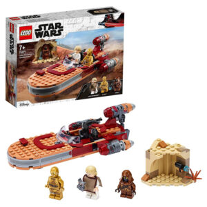 LEGO Star Wars Land-Speeder de Luke Skywalker con figura de Luke Skywalker
