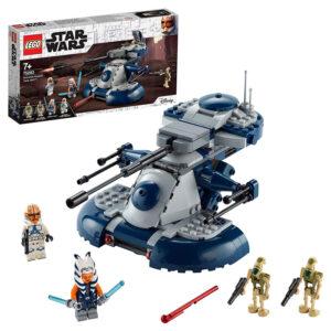 Set Lego Star Wars Tanque Blindado de Asalto (AAT) con figura de Ahsoka Tano