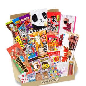 Set de chucherías frikis japonesas snack box con chuches kawaii para probar