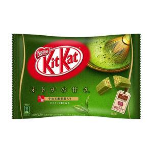 Kit Kat japonés sabor té verda Matcha chocolate