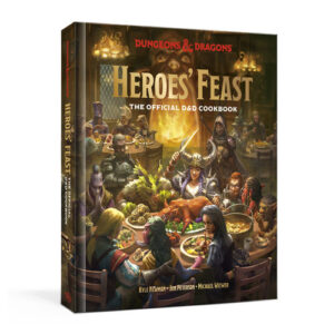 Libro de cocina y recetas frikis de Dungeons & Dragons