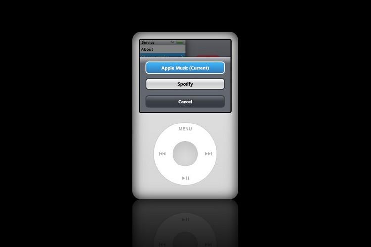 Apple iPod Classic webapp para reproducir tu música online de forma nostálgica