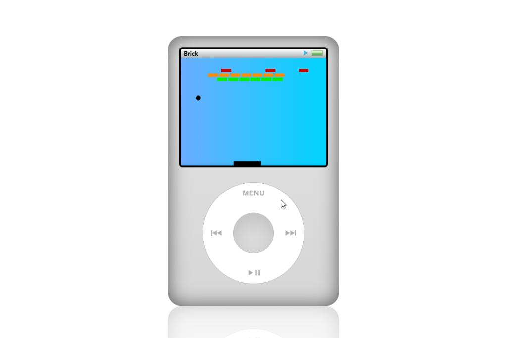 Y..si! También puedes jugar gratis al Bricks. El juego retro que incluía el iPod Classic de Apple.